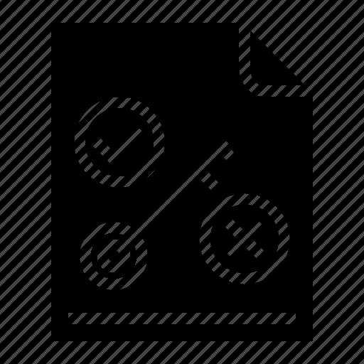 documents, idea, key, research icon