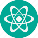 atom, biological, research, science icon