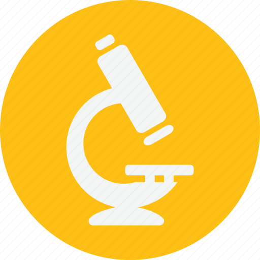 biological, microscope, research, technology icon