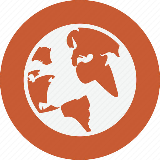 earth, globe, research, technology icon