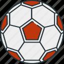 activity, football, hobby, soccerball, sport, sports icon