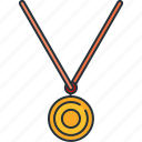 award, medal, prize, sport icon