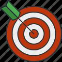 darts, sport, target icon