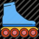 roller, skate, skating icon