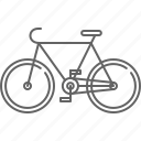 bicycle, bike, ride icon