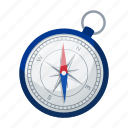 arrow, compass, device, field, geolocation, location, magnetic icon