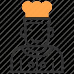 chef, cook, dinner, food, kitchen, lunch, restaurant icon