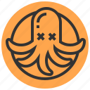 dinner, food, kitchen, lunch, restaurant, squid icon
