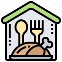 business, canteen, food, restaurant, room