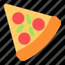 food, restaurant, pizza