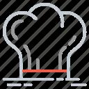 cap, chef, cook, cooking, het, restaurant icon