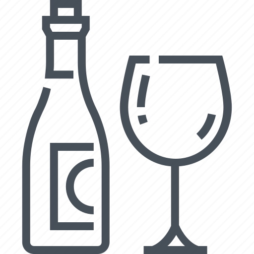 bottle, design, drink, glass, red, wine, wineglass icon