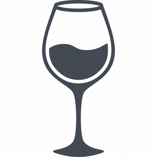 alcohol, drink, restaurant, with wine glass icon