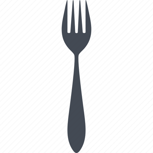 flatware, fork, kitchen, restaurant icon