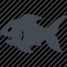 fish, food, kitchen, restaurant icon