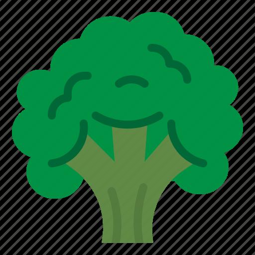 broccoli, food, salad, vegetable icon