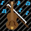 violin, music, romantic, classic