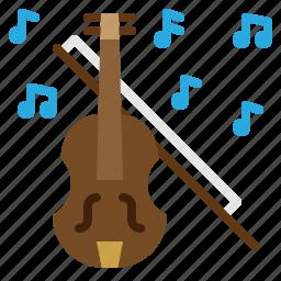 classic, music, romantic, violin icon