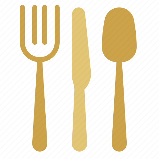 Fork, spoon, cutlery, knife icon