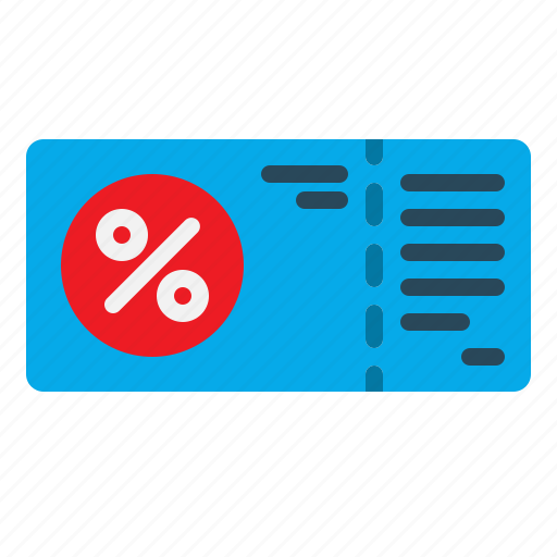 Card, discount, voucher, gift, sale icon