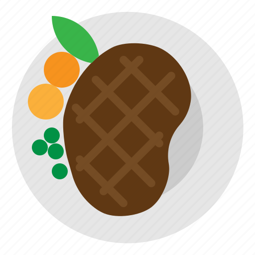 Food, grill, meat, steak icon - Download on Iconfinder