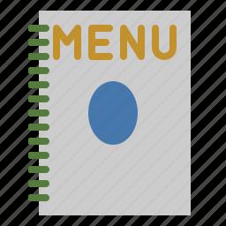 food, list, menu, restaurant icon