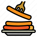 grilled, meat, sausage, wienner icon