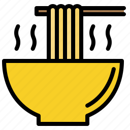 bowl, noodle, ramen, soup icon