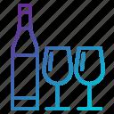 alcohole, drink, romantic, valentine, wine icon