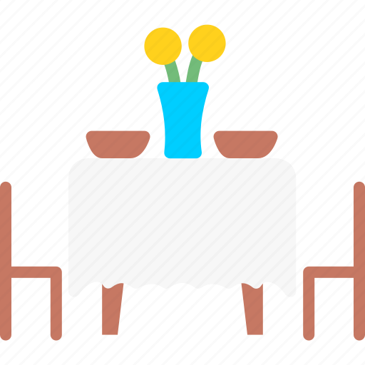 Chair, restaurant, service, table icon - Download on Iconfinder