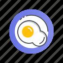 brekfast, food, healthy, meal, restaurant icon