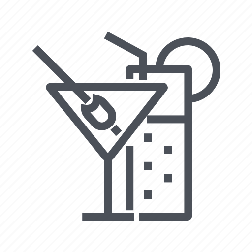 alcohol, bar, beverage, cocktail, drink icon