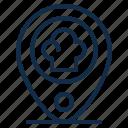 element, location, map, pin, restaurant, shop, store