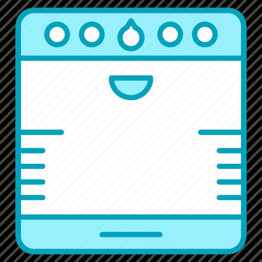 appliance, kitchen, kitchenware, restaurant equipment, stove, tool icon