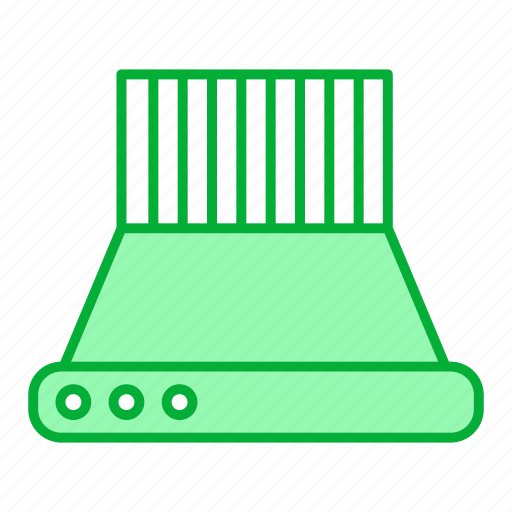 appliance, exhaust, hood, kitchen, kitchenware, restaurant equipment, tool icon