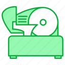 appliance, kitchen, kitchenware, meat, restaurant equipment, slicer, tool icon