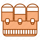 beverage, dispenser, kitchenware, refrigerated, restaurant equipment icon