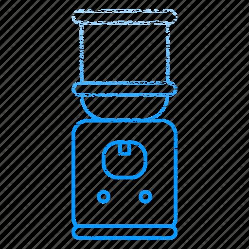 dispenser, equipment, kitchen, kitchenware, restaurant, water icon