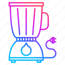 blender, equipment, juicing, restaurant equipment icon
