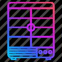 freezer, fridge, merchandising, refrigerator, restaurant equipment icon