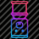 cold, dispenser, drink, restaurant equipment, water icon