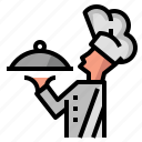 avatar, chef, cook, service icon