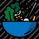 bowl, mixing, mix, food