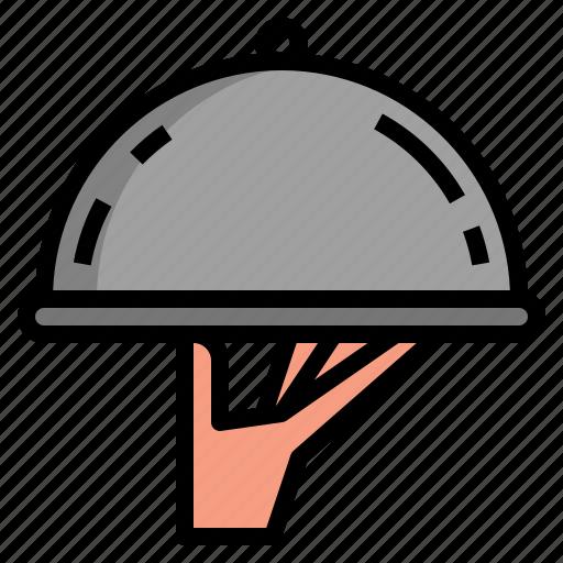 cafe, food, order, restaurant, service icon