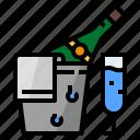 alcohol, bottles, cooler, drink, mulled, wine