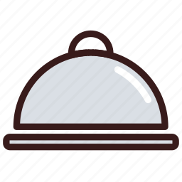 butler, catering, food, restaurant, serving icon