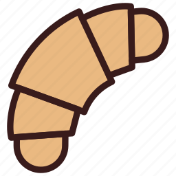 bakery, bread, croissant, pastery icon