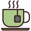 beverage, cafe, cup, hot, tea icon