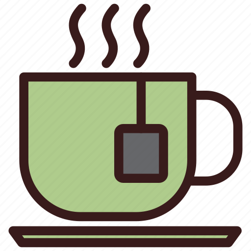 beverage, cafe, cup, hot, tea icon