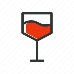 dinner, drink, food, glass, love drink, restaurant, wine icon